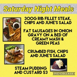 Book Your Table For Saturday Night Meals